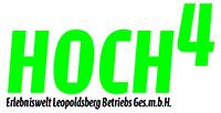 Logo von Hoch4 Erlebniswelt Leopoldsberg Betriebs GmbH